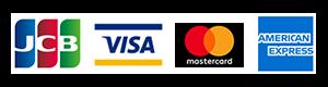 クレジットカードのご利用が可能です
